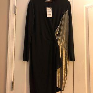 New with tags asymmetrical Zara dress